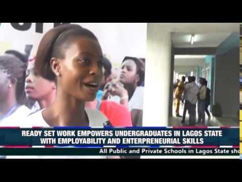 READY SET WORK EMPOWERS UNDERGRADUATES IN LAGOS STATE