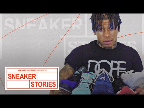 NLE Choppa Talks His First Pair, Must Haves And The Sneakers He's Ruined On Sneaker Stories With 'Complex'