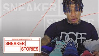 NLE Choppa Talks Air Force 1s, His Current Rotation, and More on Sneaker Stories