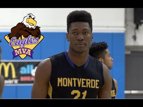 6'10 Bruno Fernando of Montverde Academy - Class of 2016 Basketball Highlights