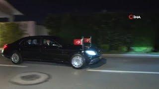 Cumhurbaşkanı Erdoğan Vahdettin Köşkü'nden Ayrıldı