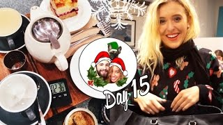 Coffee & cake with Emshel & Sparkly London ❄ Vlogmas 15 Thumbnail
