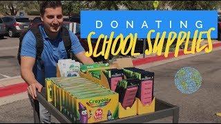 Donating School Supplies - 303 Heroes