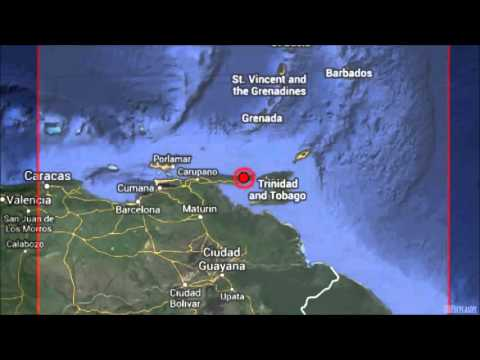 M 6.1 EARTHQUAKE -  OFFSHORE SUCRE, VENEZUELA October 12, 2013