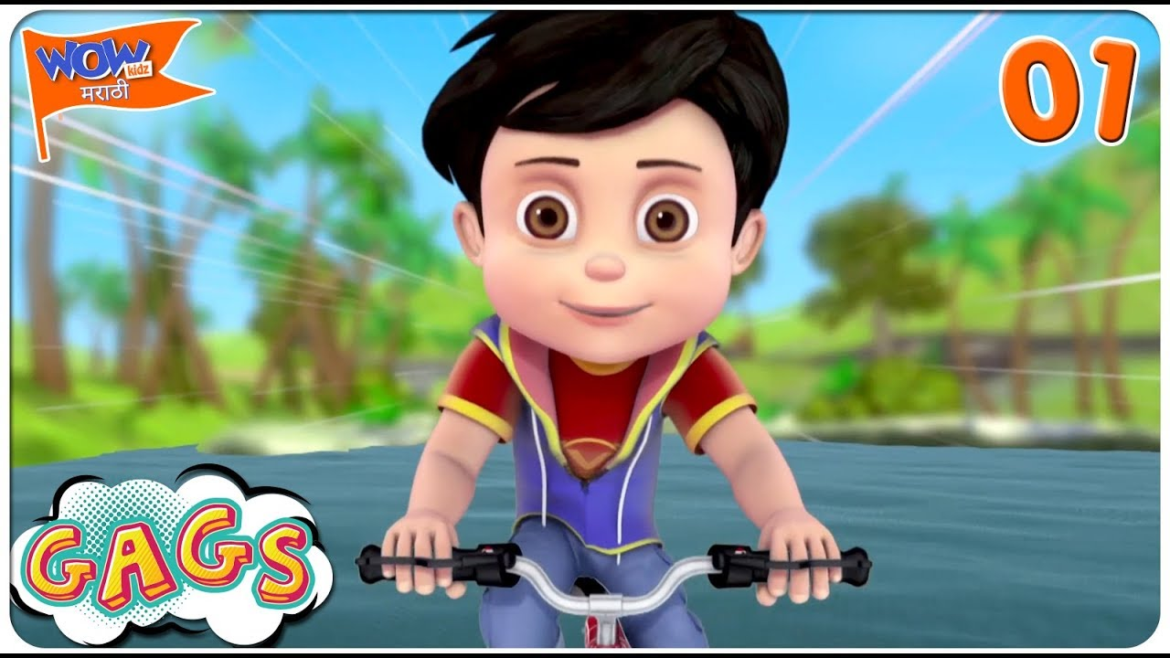 Download Favourite Scenes of VIR THE ROBOT BOY | मराठी Cartoons | #01 | WowKidz Marathi