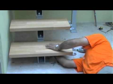 Tech Modular Staircase Spiral Stairs Direct: Installation Part 3