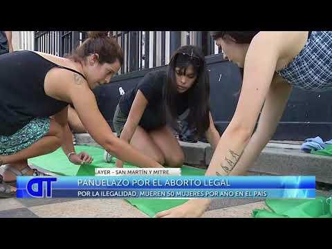 Pañuelazo por el aborto legal en Mar del Plata