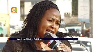 Wavinya supporters celebrate decision overturning Mutua's victory