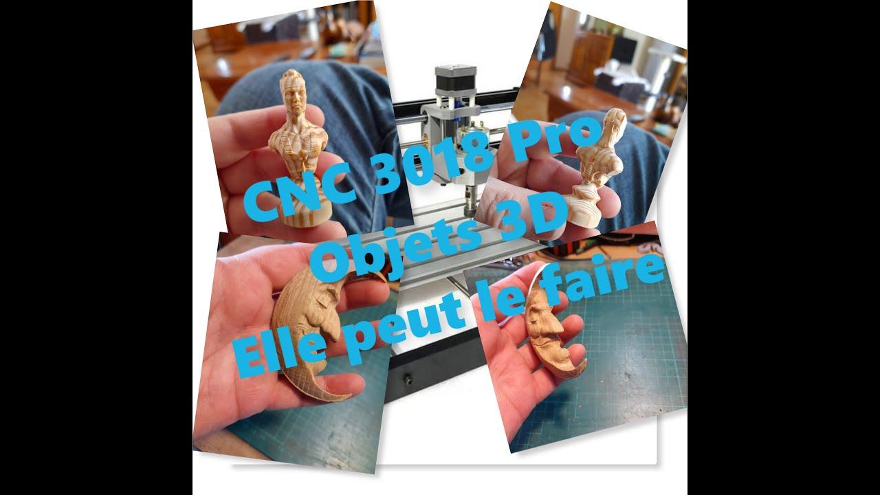 Download [TUTO CNC 3018] Faire des objets en 3D avec une CNC 3018 Pro - possible 😏🤔