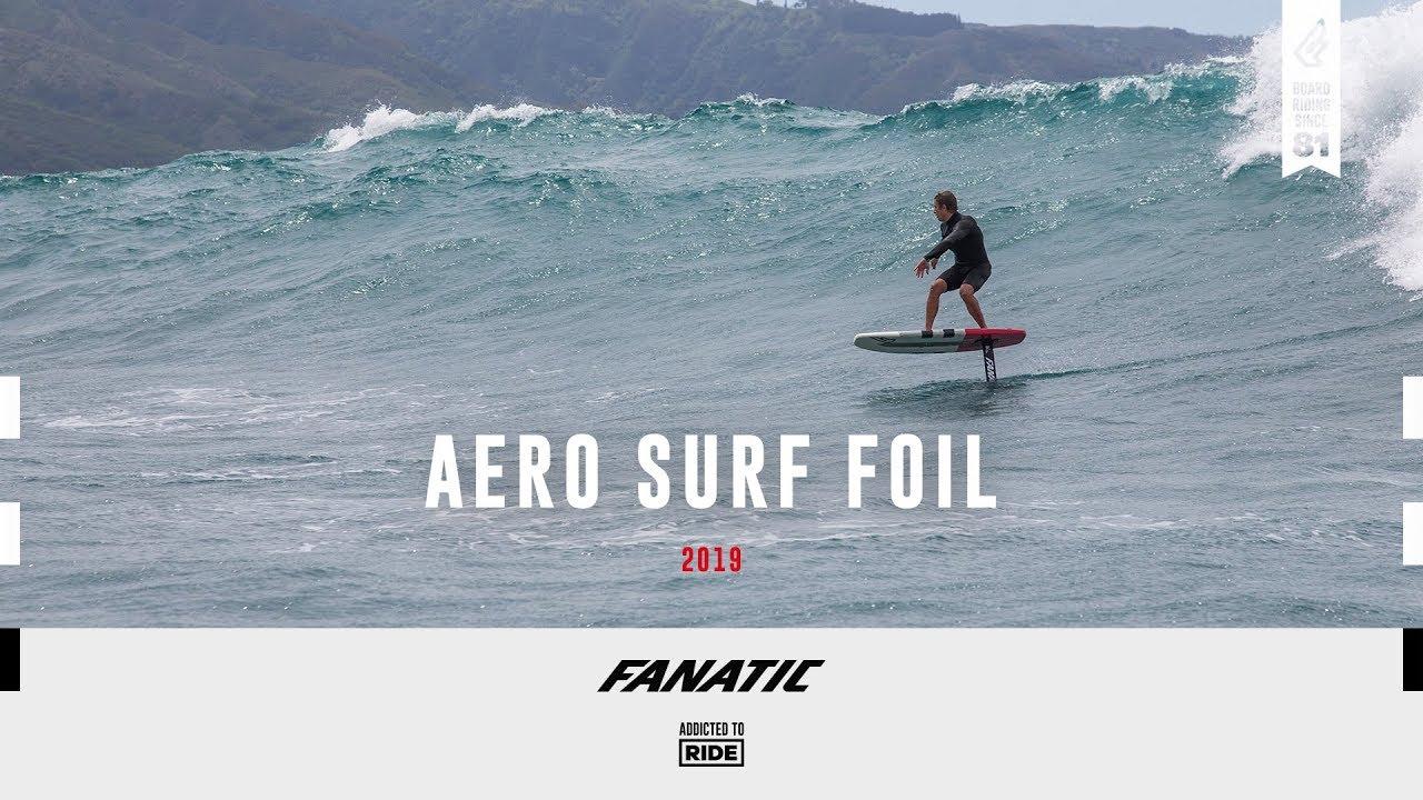 365df2616 Fanatic Aero Surf Foil 1500 2019 - YouTube