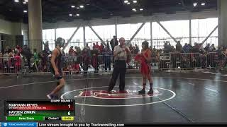Middle School 97 MaryAnn Reyes Victory Wrestling-Central WA Vs Hayden Zinkin Darkhorse