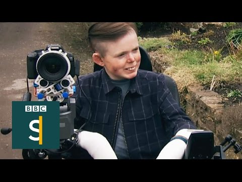 Invention brings happiness to a terminally ill man - BBC Stories