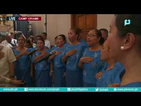 Pagbisita ni Pangulong Rody Duterte sa 115th Police Service Anniversary, Camp Crame, QC
