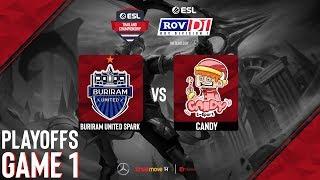 Buriram United Spark vs CanDy I Playoffs [Game 1] RoV D1, Presented by Mercedes-Benz