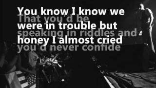 Jilted Lovers & Broken Hearts (Lyrics)- Brandon Flowers