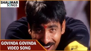 Govinda Govinda Video Song || Khadgam Movie || Ravi Teja , Srikanth, Sonali Bendre, Sangeetha