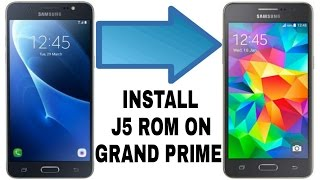 installation and review galaxy j5 rom port on grand prime