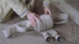 Навички вогнеборців. Урок 8: Укладка пожежного рукава. Лісник.