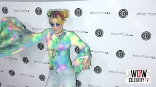Dani Thorne arrives to Beautycon in Los Angeles