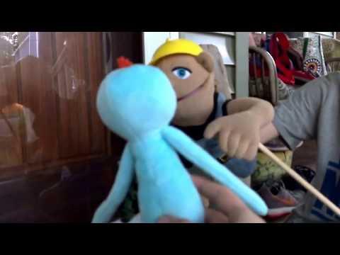 Rick meets a new friend/ puppet productions short