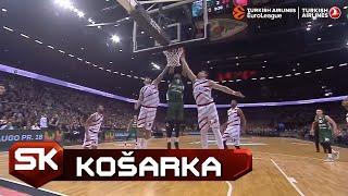 Euroleague 2018/2019   TOP5 Poteza Brendona Dejvisa   SPORT KLUB Košarka
