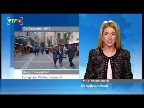 Rtf Nachrichten Koniglicher Weihnachtsmarkt Auf Der Burg Hohenzollern Youtube