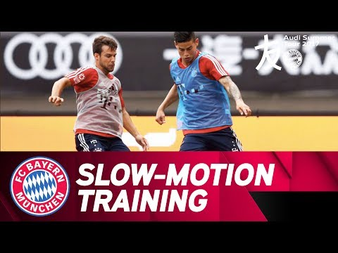 Slow-Motion: First FCB-Training in Shanghai | Audi Summer Tour 2017