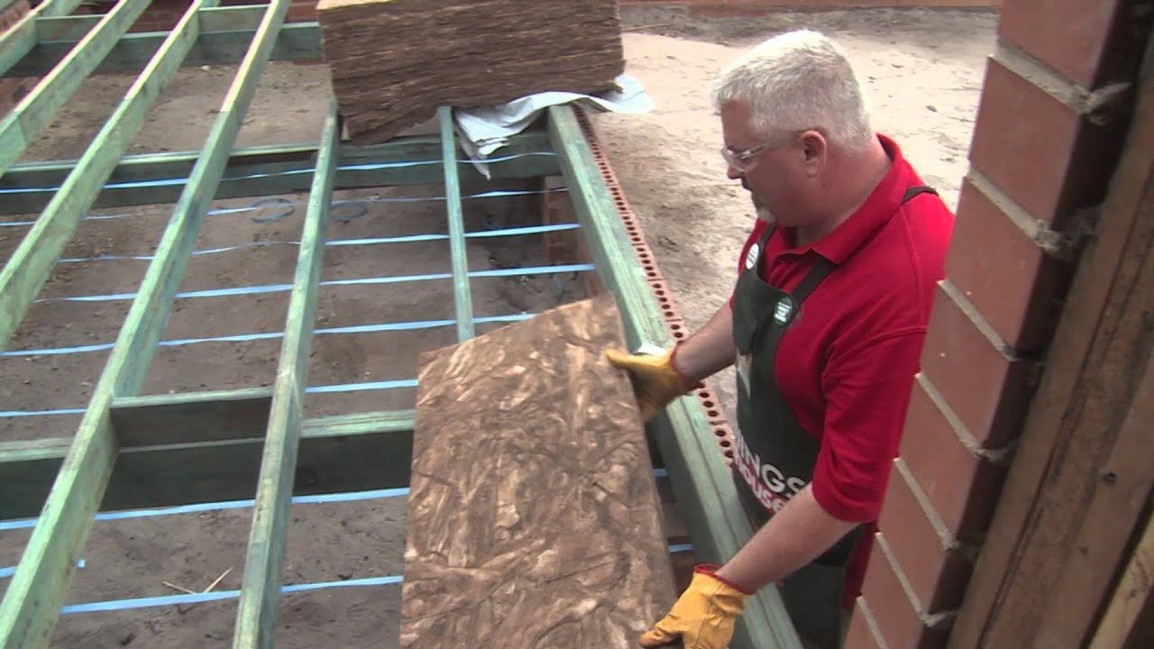 Pin Boards Bunnings How To Install Glass Wool Floor Insulation Diy At Bunnings