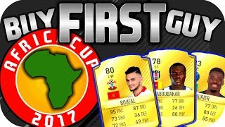 Afrika Cup 2017 (CAF) Team - FIFA 17 BUY FIRST GUY