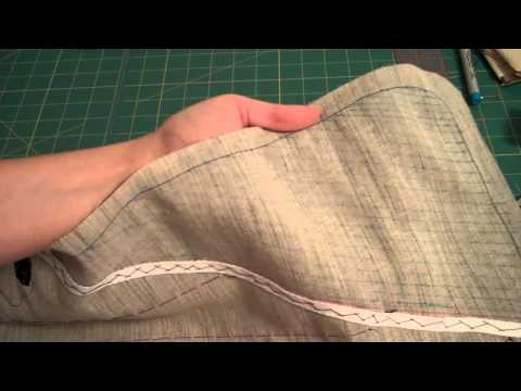 Pad Stitching the Lapel