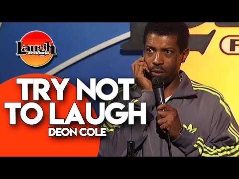TRY NOT TO LAUGH  Deon Cole  StandUp Comedy