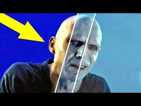 """Как выглядит """"Гарри Поттер"""" До и После спецэффектов"""