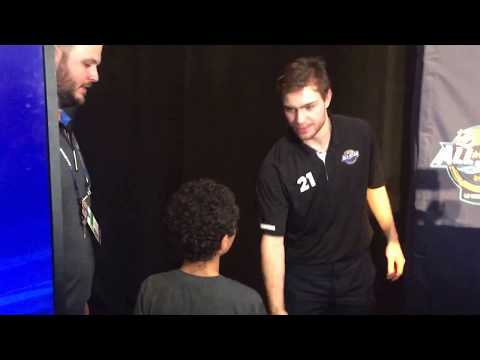 Upper Deck NHL All-Star Kid Correspondent Interviews Brayden Point