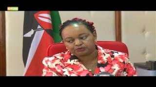 Waiguru on civil servants retrenchment
