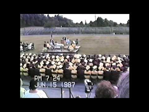 whitehall pa zephyr 1987 commencement graduation.wmv