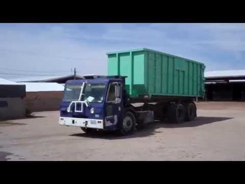 Rainbow Environmental Services - CCC Crane Carrier Company Amrep Roll-off (Garbage Truck)