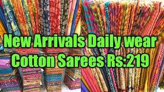 Daily Wear Cotton Sarees From …