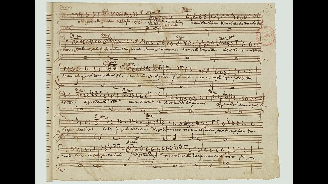 Mozart don giovanni deh vieni alla finestra met di - Don giovanni deh vieni alla finestra ...