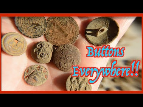 Metal Detecting: Millions of Buttons!! (A Day in the Life #220)
