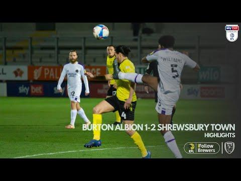 Burton Shrewsbury Goals And Highlights
