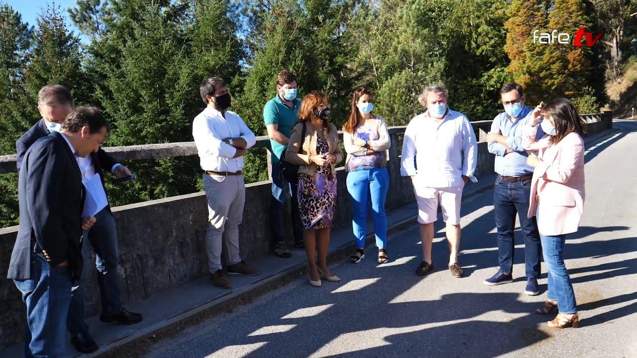 Deputados do PSD vieram ver a poluição no rio Vizela.