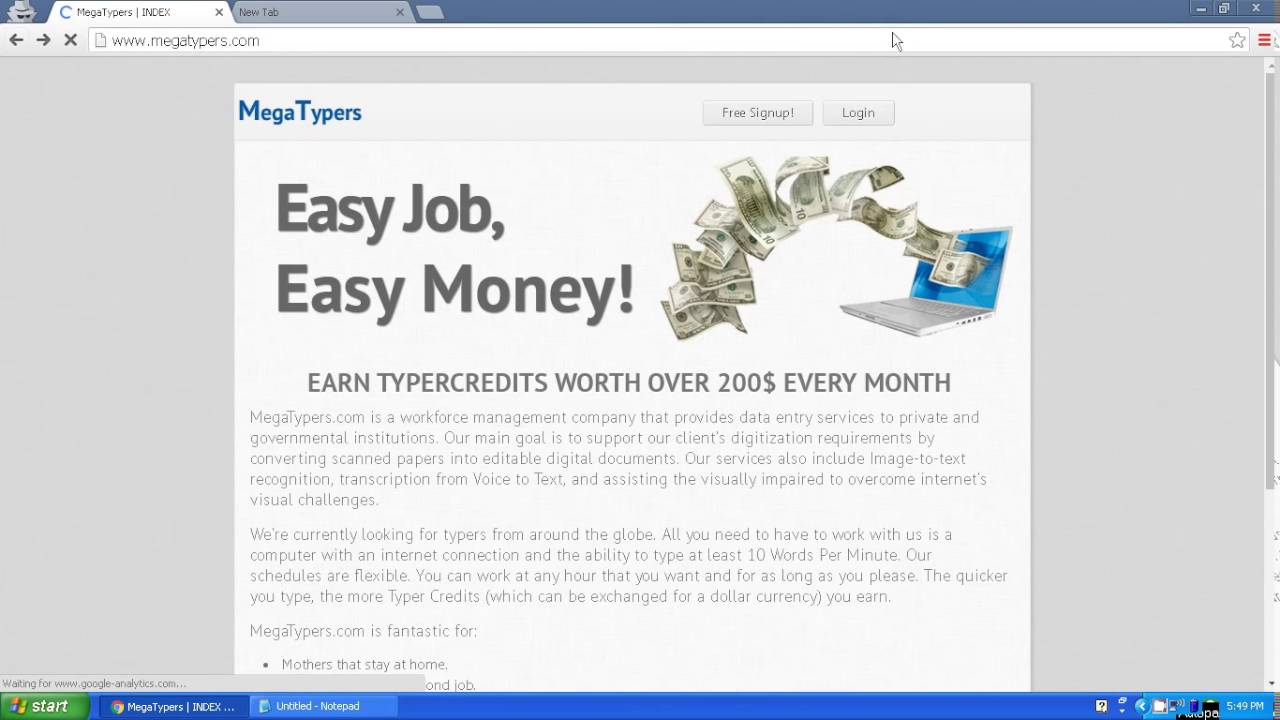 How To Earn Money Just By Solving Captcha  Earn Money Online For Free