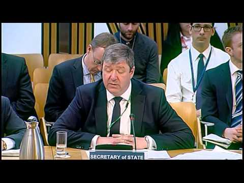 European and External Relations Committee - Scottish Parliament: 20th March 2014