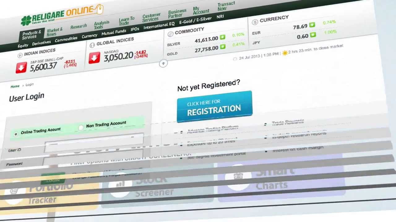 Trade Online With Religare