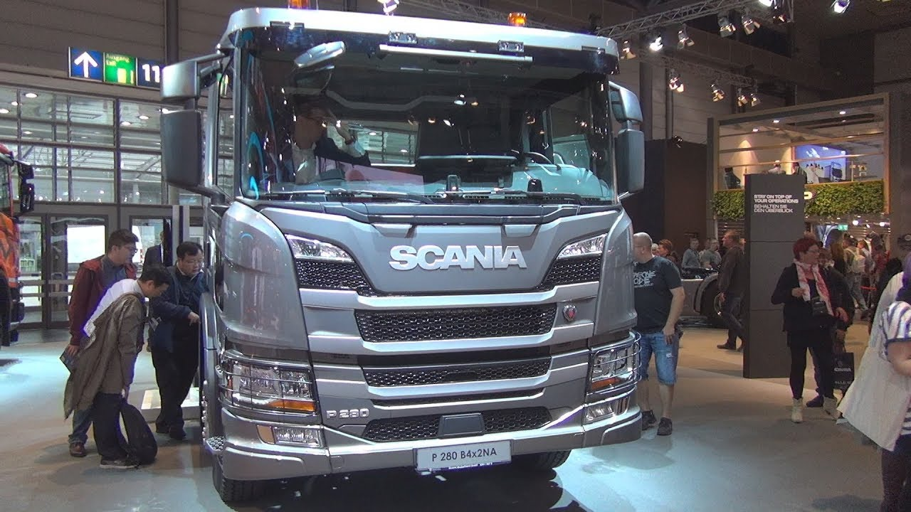 Scania P 280 B4X2NA Chassis Truck (2019) Exterior and Interior