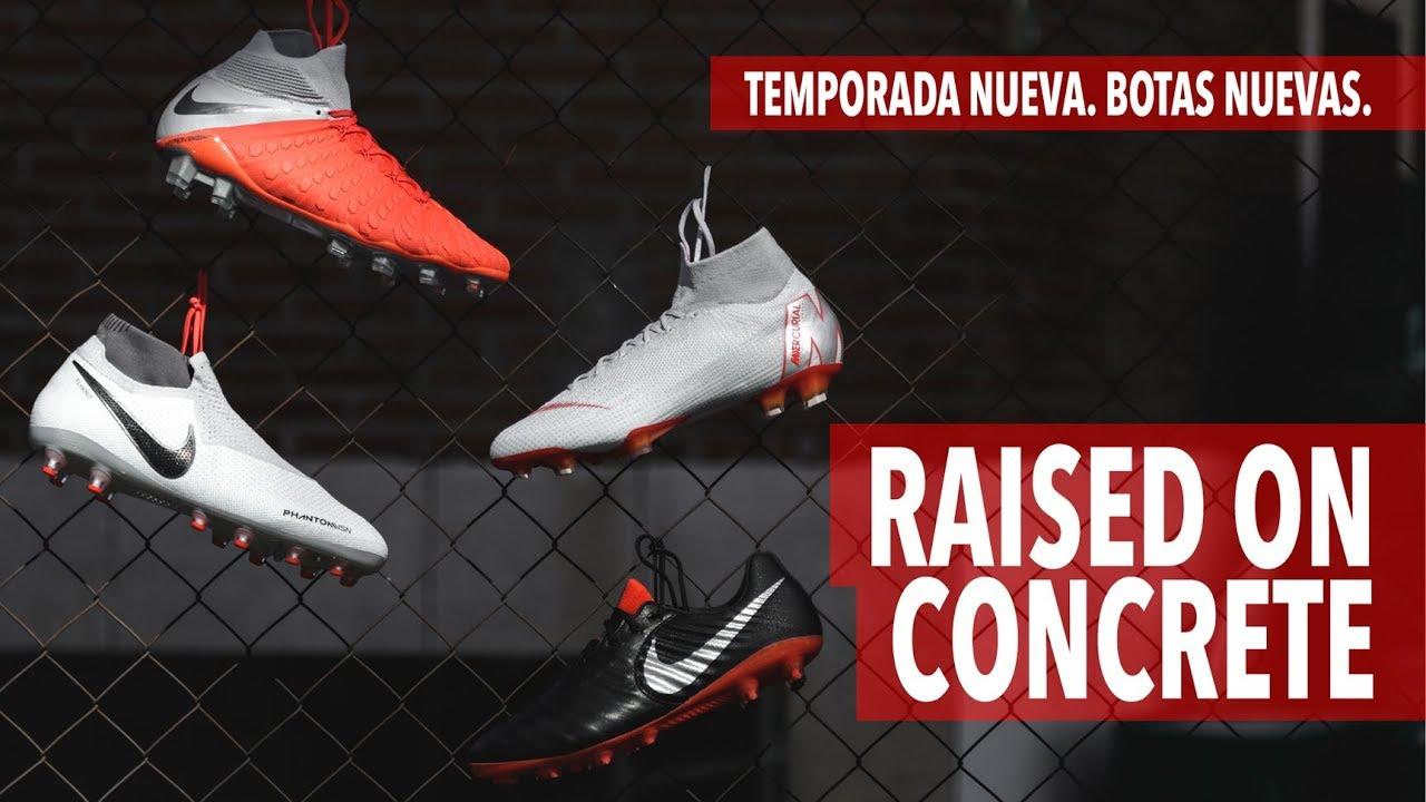 REVIEW  ¿La mejor colección de botas de fútbol del momento  Descubre Nike  RAISED ON CONCRETE Pack 6e203f07a43