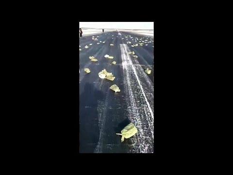 Kinross Gold: выпавшее из самолета золото собрано