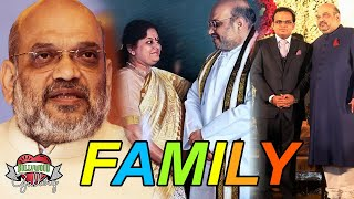 Amit Shah Family With Parents Wife amp Son  Bollywood Gallery