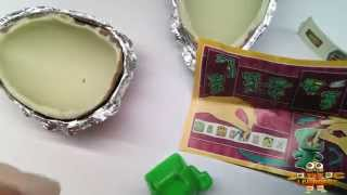 Распаковка и Обзор Еды Яйцо
