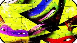 TEENAGE MUTANT NINJA TURTLES Puzzle Games Rompecabezas Jigsaw Puzzles Kids Toys
